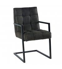 Chaise gris foncé - CASITA